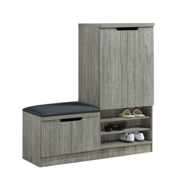 shoe rack with seating