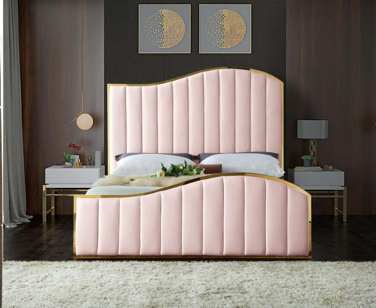 pink bed , bed, sofa, wardrobe, sectional sofa, dubai furniture,furniture store near me, online furniture store, home furniture, best furniture in dubai, accent chair, armless chair